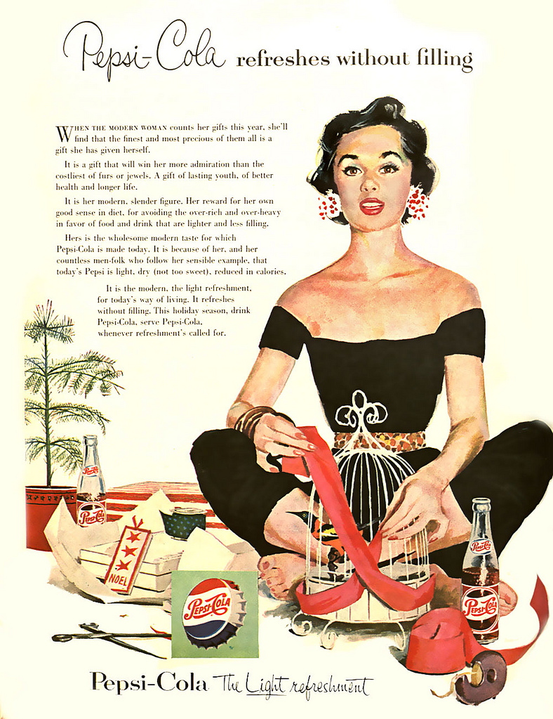Pepsi Advertising Campaigns of the 1950's ~ vintage everyday