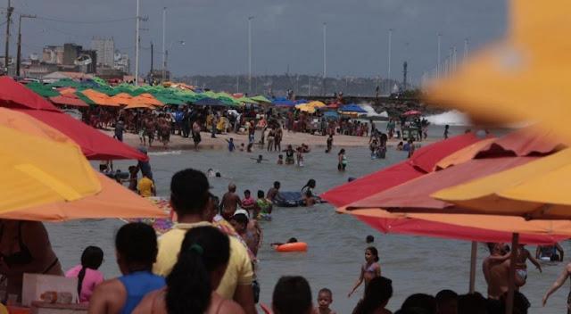 Pandemia: Em domingo de desrespeito a normas sanitárias contra a covid-19, Pernambuco tem 84% das UTIs ocupadas