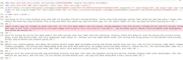 kode broken link