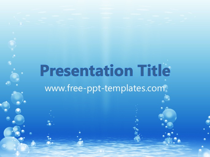Bubble ppt template toneelgroepblik Image collections