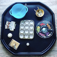 tuff tray with baking resources