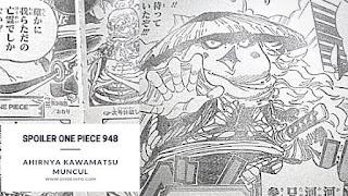 Spoiler manga One Piece 948 : Ahirnya Kawamatsu Muncul