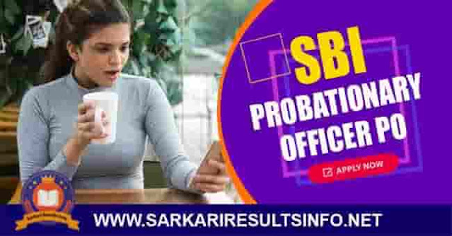 SBI Probationary Officer Apply Online 2020