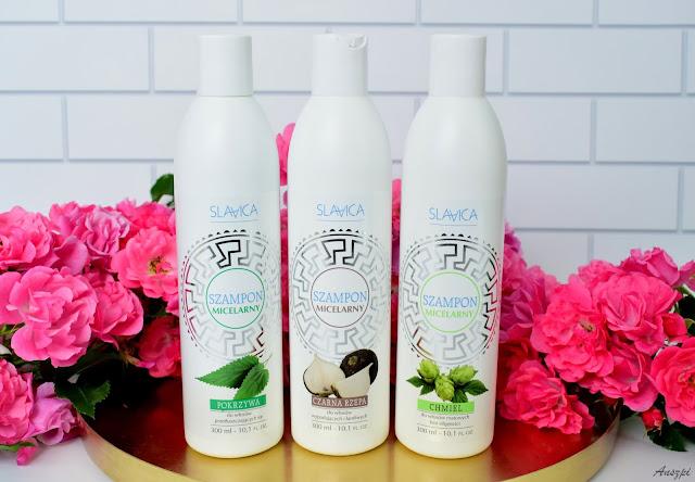 Naturalne szampony Slavica