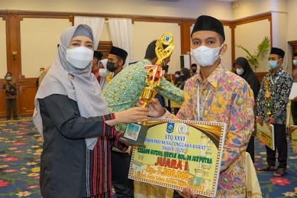 Juara Umum STQ XXVI Tingkat Provinsi NTB Diraih Lombok Tengah