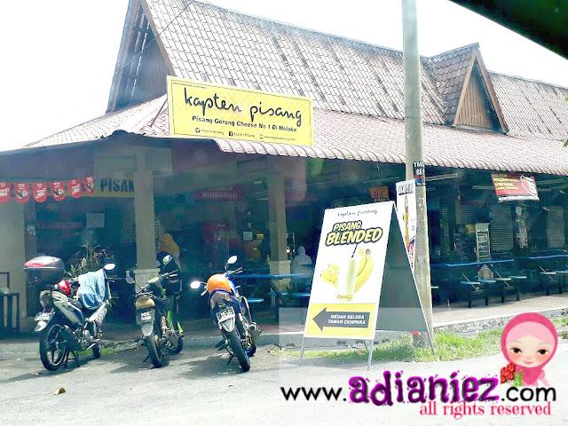 Kapten Pisang ~ Pisang Goreng Cheese No. 1 Di Melaka
