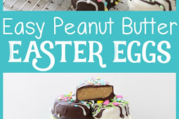 RECIPE - PEANUT BUTTER EASTER EGGS