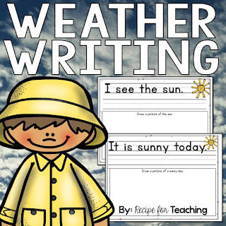 https://www.teacherspayteachers.com/Product/Weather-Writing-1437732