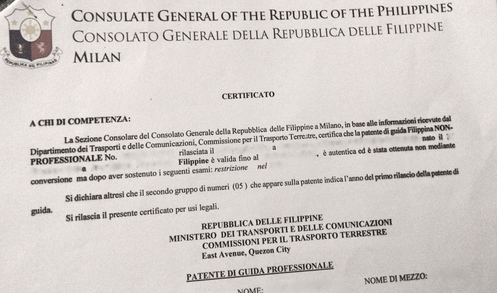 Anything under the sun how to convert your philippines for Consul authentication