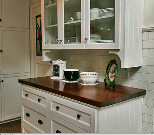 White Antique Kitchen Cabinets: Shelly's Vintage Blog: I'm Dreaming Of A White Kitchen