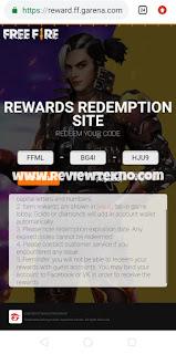Kode Redeem FF September