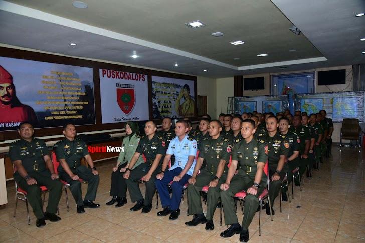 Kodam Hsn, Ikutkan 36 Perwira Diklapa II Kecabangan TNI AD TA 2019
