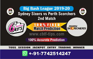 Who will win Today BBL T20, 2nd Match Perth vs Sixer - Cricfrog