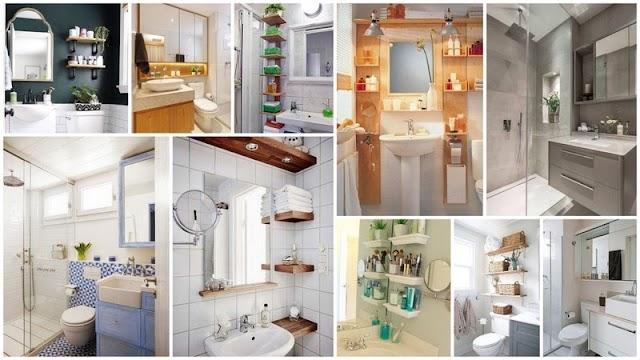 4 Λειτουργικές & πρακτικές Ιδέες για Μικρά Μπάνια