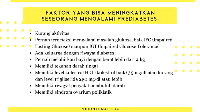 faktor pre diabetes