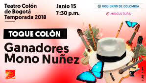 TOQUE COLON: Ganadores del Mono Nuñez 2018