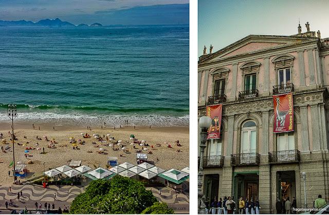 Rio de Janeiro - Praia de Copacabana e Museu Nacional