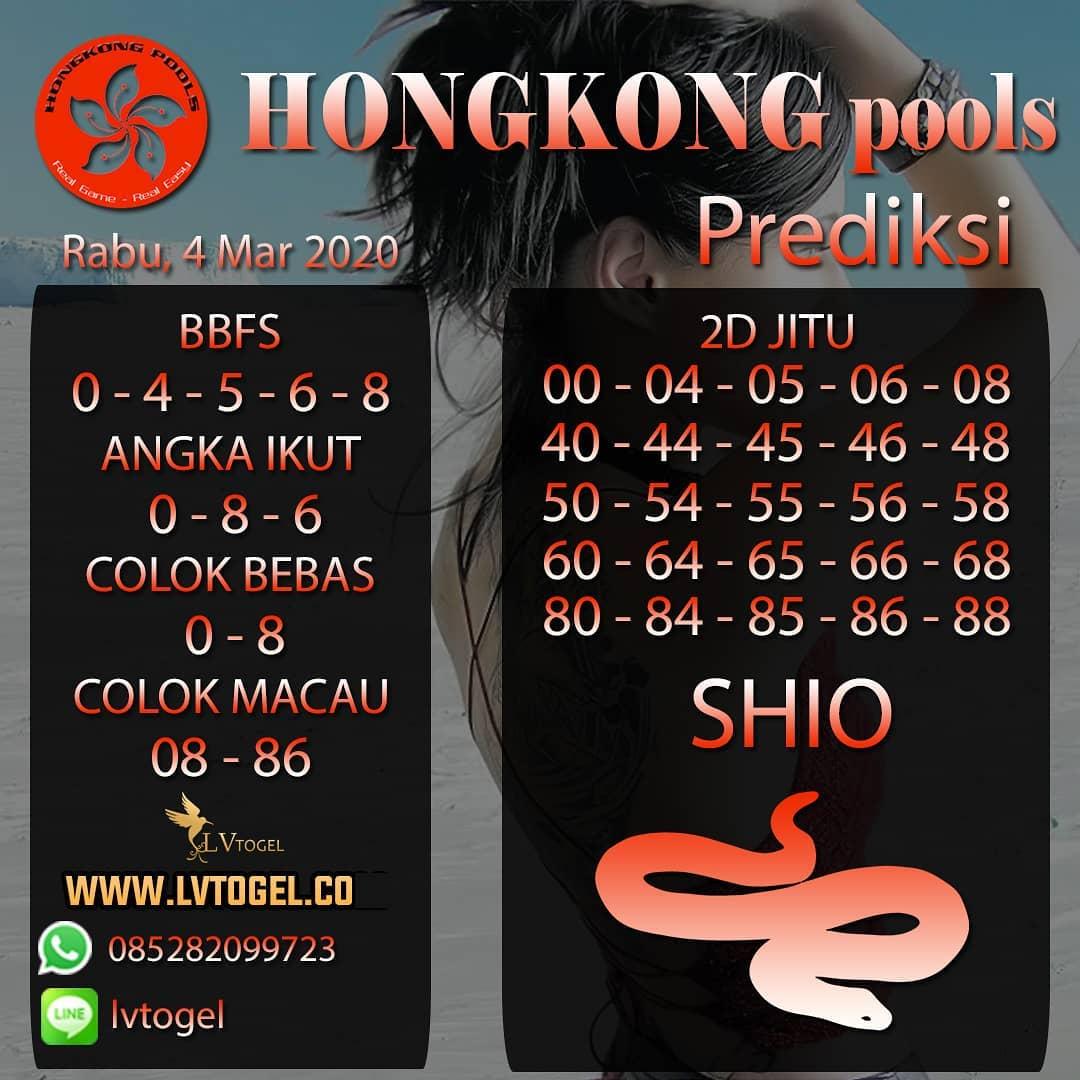 Prediksi Togel JP Hongkong Rabu 04 Maret 2020 - Prediksi Hongkong Pools