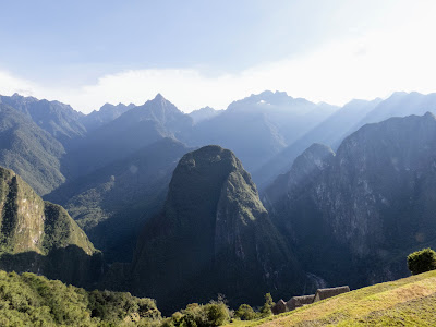 Machu Picchu pictures: Sunrise over the Andes at Machu Picchu
