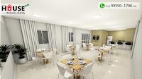 Localizado na Rua Maranhão no Portão, o empreendimento conta com apartamentos de 2 ou 3 Dormitórios com ampla Sacada e Churrasqueira a carvão.