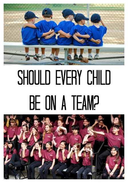 Do team activities matter in our children's life?