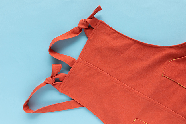Kate's Coral Cleo with Hacked Pockets - Sewing pattern by Tilly and the Buttons