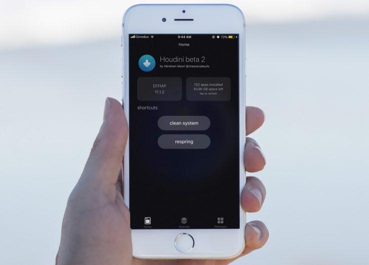 جيلبريك iOS 11 Houdini
