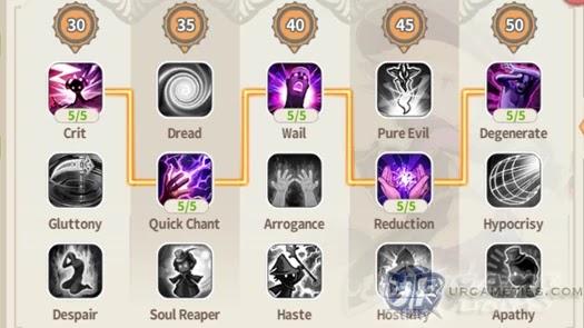 Lumia Saga - FS Warlock Talent Build 2