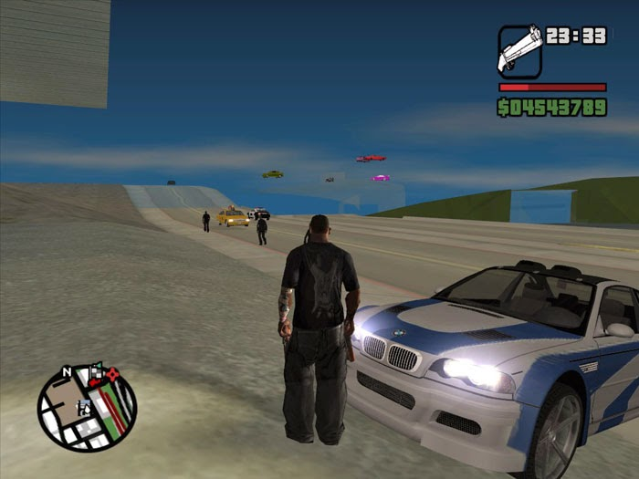 GTA San Andreas Zone: How To Fix High Quality Textures