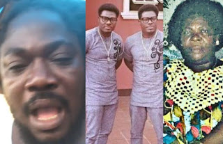 Daddy Showkey blasts singing duo, Mamuzee twins, for neglecting their mum until she died