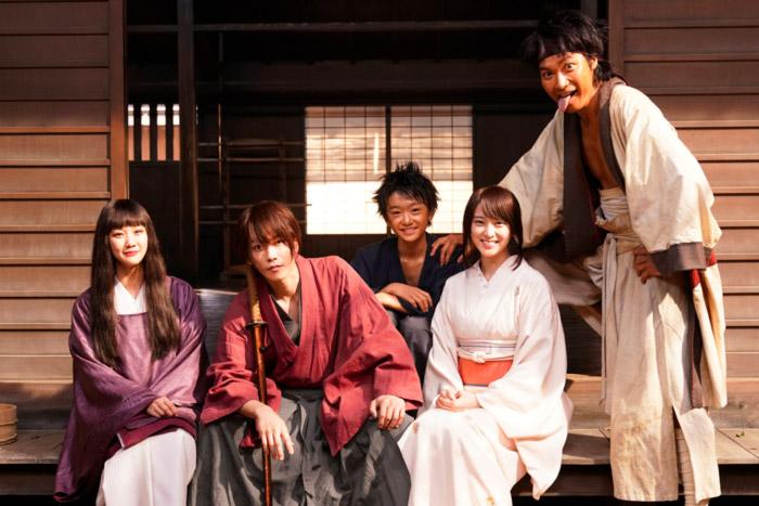 Rurouni Kenshin The Final/The Beginning live-action 2020 - reparto