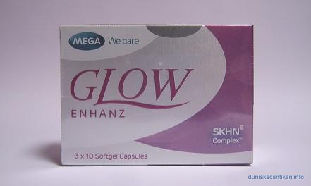 Glow Enhanz Suplemen Pemutih Kulit Permanen