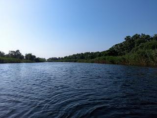 Река Волчья в Межевском районе Днепропетровской области