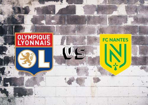 Olympique Lyonnais vs Nantes  Resumen