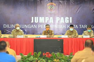Jumpa Pagi Rutin Dilingkungan Pemerintah Kota Tarakan