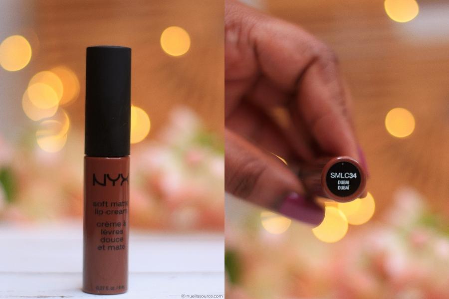NYX soft matte lip cream dubai