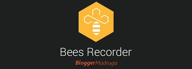 Melhor gravador de voz para celular | Bees recorder