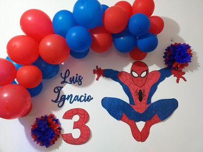 12 Ideas Para Decorar Fiesta Spiderman