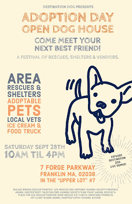 Destination Dog Adoption Day & Open House - Sep 28