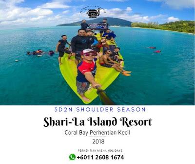 Pakej Perhentian Resort Menarik Untuk Menginap 2018