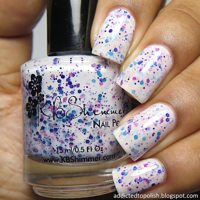 kbshimmer prints charming spring 2016 white crelly glitter