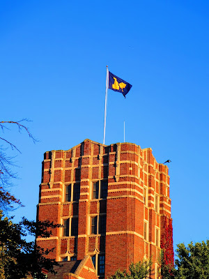 Downtown Ann Arbor points of interest: The University of Michigan campus