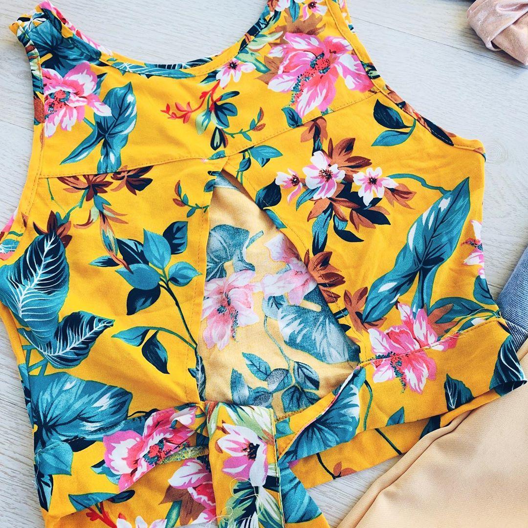 Camisas anudadas primavera verano 2020.