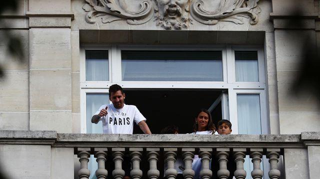 1er entraînement pour Lionel Messi avec Paris Saint-Germain