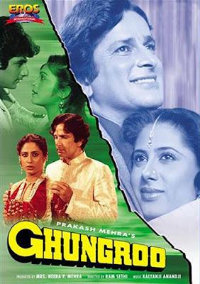Ghungroo 1983 Hindi 720p DVDRip 1.5GB ESub