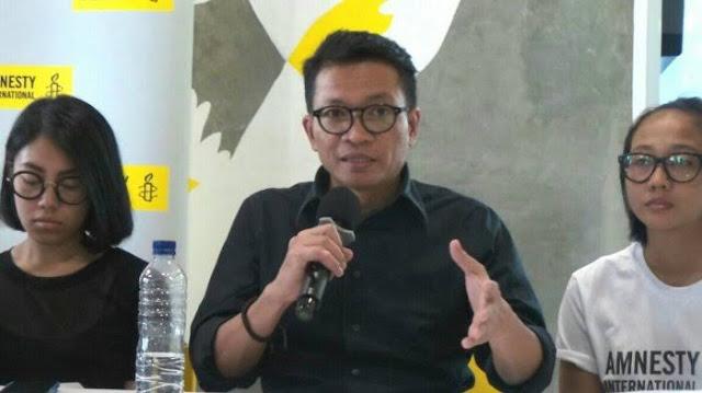 Amnesty: Demokrasi Indonesia Mundur, Represi Tiada Henti hingga Bantuan Buzzer