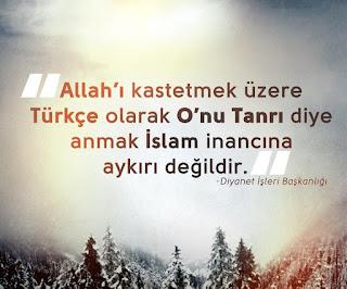 İslam ile Türk dili yan yana gelsin istemiyorlar!