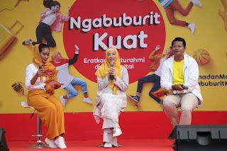 #NgabuburitKuat bareng IM3 Ooredoo di Pusdai Bandung