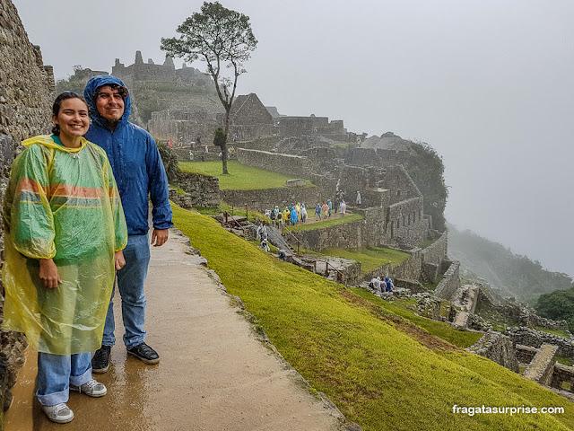 Chuva em Machu Picchu, Peru