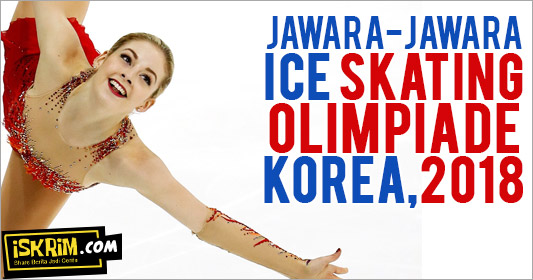 Inilah Peraih Medali Olimpiade Ice Skating, Yang Baju Merah Jangan Sampai Lolos